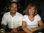 Luis Morales (Mamuso) y Liz Nora Zayas