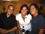 Froilán Rodríguez, Auridelie Muñoz y Peter Zambrana