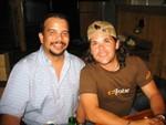 Francisco José Pérez (Paquito) y Peter Zambrana
