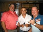 Rubén Falcón, Harry Renovales y Wigberto Castellano