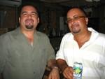 Frankie Martínez y Robert García