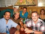 Paquito, Carlos Luis Pérez (Kit Carson), Peter, Felipe Burgos y Luis Rodríguez (Luisito)