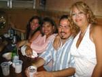 Auridelie, Carmen, Carlos y Sonia Meléndez.