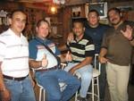 Harry Renovales, Wigberto Castellano, Ramón Burgos Mandry (Nandy), Miguel Balasquide (Miguelín) y Luis de Jesús