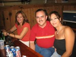 Liz Nora Zayas, Luis Rodríguez (Luisito) y Sonia Meléndez