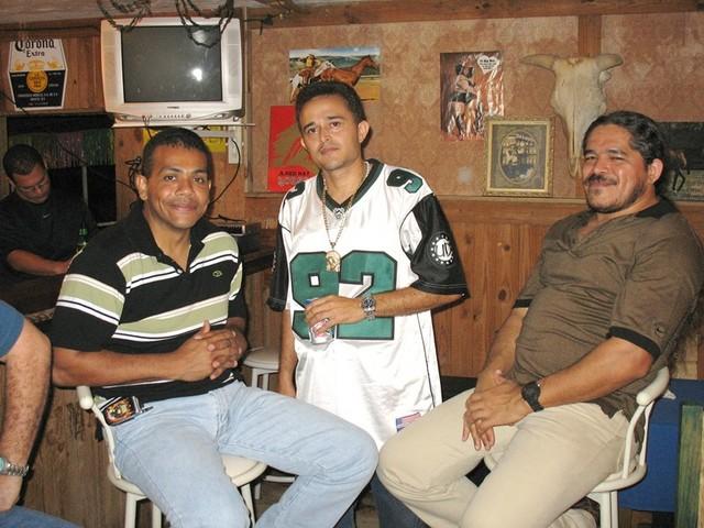 Nandy, Felipe Burgos y Luis de Jesús