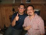Miguelín y Carlos Lugo