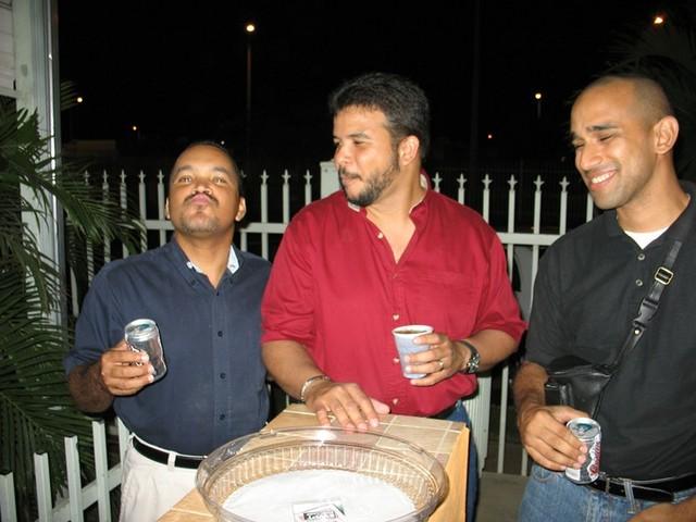 Luis Morales (Mamuso), Paquito y el Bartender.