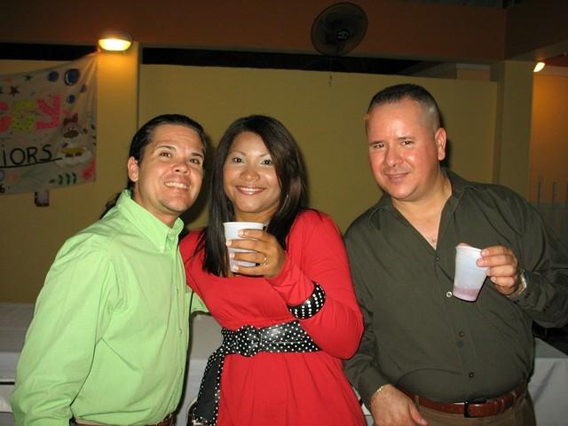 Peter, Walesca y Wigberto.