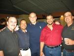Luisito, Mamuso, Iván Torres, Paquito y Reynaldo Cabán.