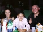 Wigberto y su familia.